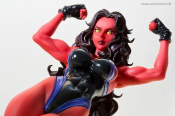 MARVEL COMICS RED SHE-HULKBISHOUJO STATUE