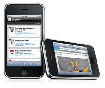 M..corner su Iphone e PDA