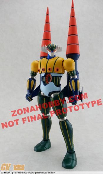 ZPRO-01 Kotetsu Jeeg  il proto colorato