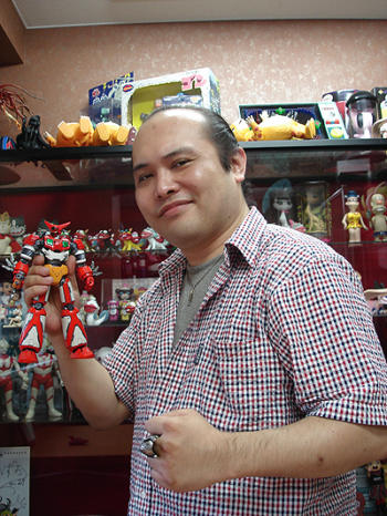 Omaggio a Taku Sato (Professor robo)
